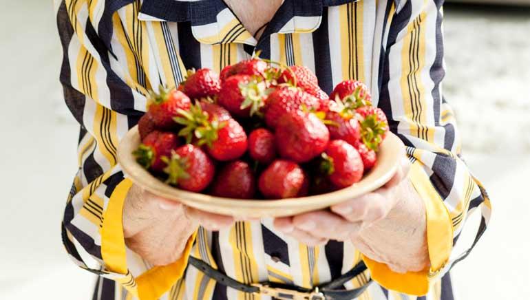 Beneficios de las fresas en el proceso de envejecimiento